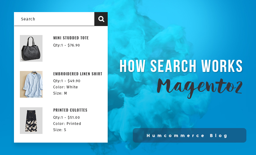 How search works in Magento 2