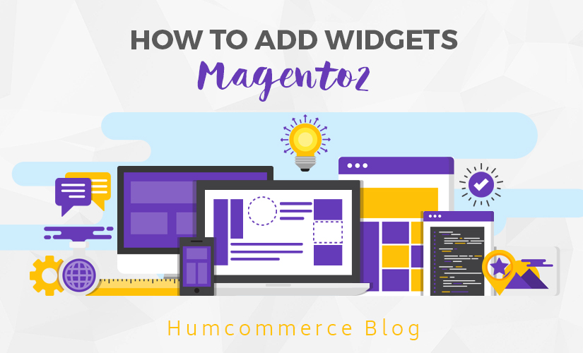 How to add widgets in Magento 2