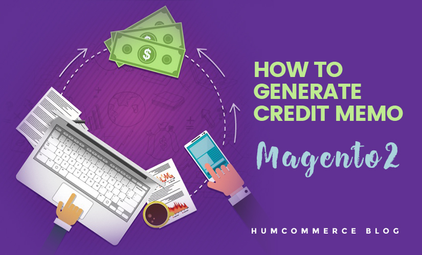 how to generate credit memo