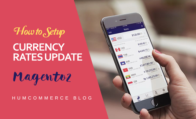 Currency Rate Updates in Magento 2