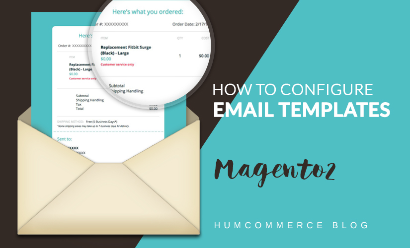 How to configure email templates