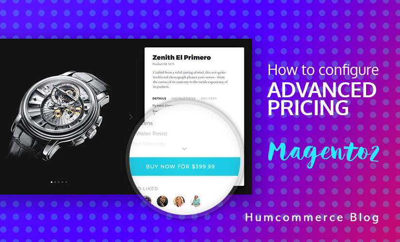 How to configure advanced pricing in Magento 2