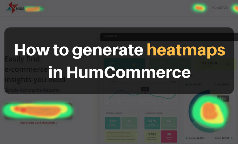 How to generate heatmaps in HumCommerce
