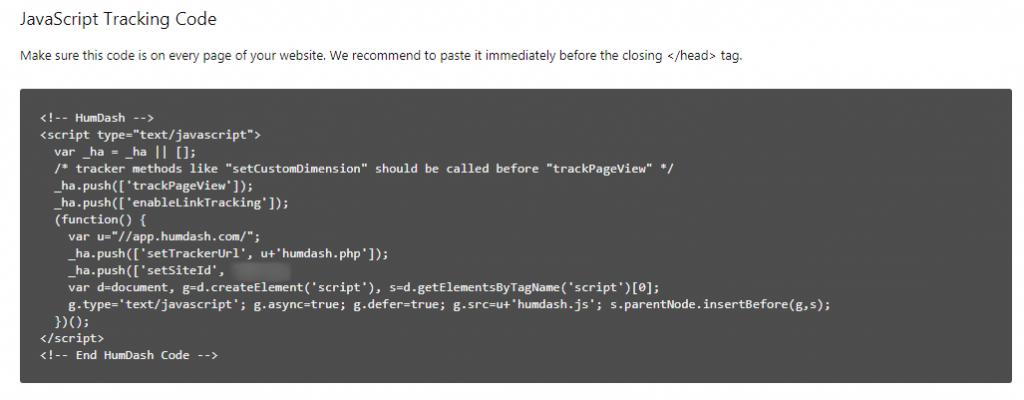 HC integration code